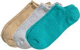 H&M 3-pack Ankle Socks - Turquoise - Men