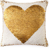 Jonathan Adler White Heart Pillow