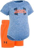 Under Armour Baby Boy Logo Graphic Bodysuit & Shorts Set