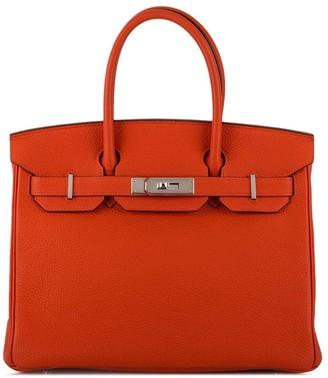 Hermes 2016 pre-owned Birkin tote bag