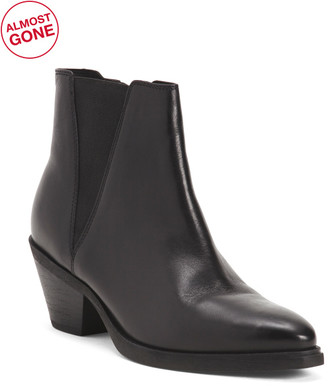 Comfort Leather Booties