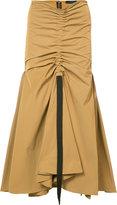 Ellery drawstring draped full skirt - women - Silk/Polyester - 8