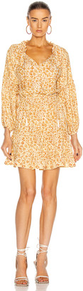Natalie Martin Maggie Dress in Ivy Cumin Light | FWRD