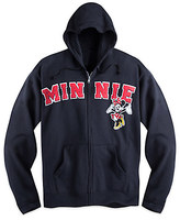 Disney Minnie Mouse Zip Hoodie for Adults