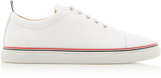 Thom Browne Low-Top Calf Leather Sneakers