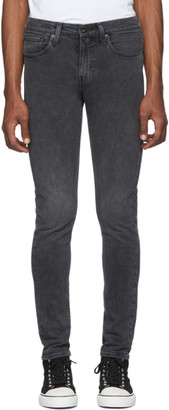 Levi's Levis Made And Crafted Levis Made and Crafted Black 502 Slim Taper Jeans