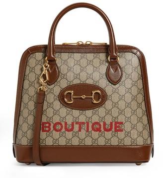 Gucci Medium 1955 Horsebit Top-Handle Bag