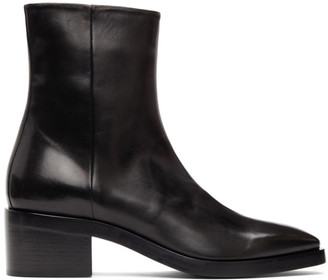Pierre Hardy Black Jim Heeled Boots