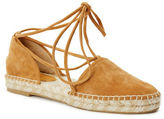 Frye Leo 2 Piece Espadrille Leather Sandals