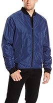 DKNY Men's Raglan Bomber Jacket