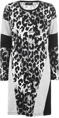 Religion Crown Panthera Print Dress