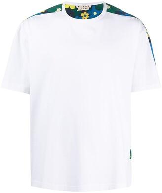 Marni floral back T-shirt
