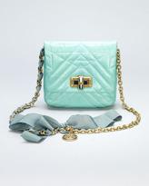 Lanvin Happy Mini Pop Crossbody Bag, Light Green