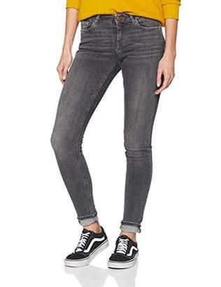 Scotch & Soda Maison Women's La Bohemienne-Urban Walk Straight Jeans, Grey Wall 2601, W32/L32
