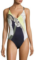 Vince Camuto Rainforest One Piece Swimsuit