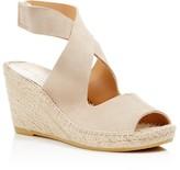 Bettye Muller Crisscross Espadrille Wedge Sandals