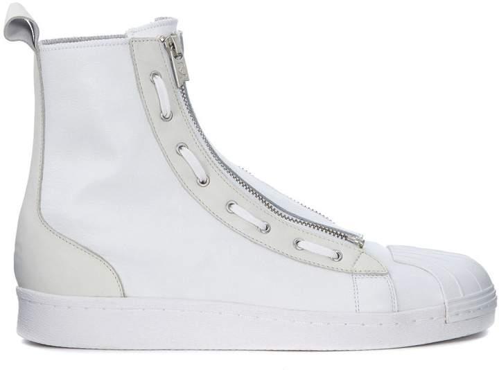 Y-3 Pro Zip White Neoprene Sneaker