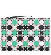 Emilio Pucci geometric print clutch