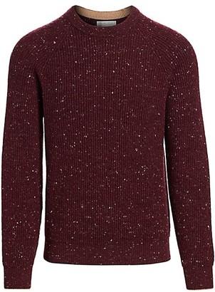 Brunello Cucinelli Marled Wool-Blend Sweater