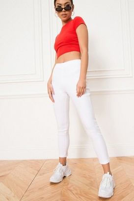superdown Maisie Zip Back Skinny Pants