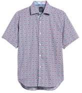 Tailorbyrd Men's Maurice Print Sport Shirt