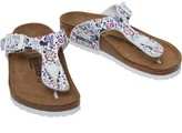 Birkenstock Infant Girls Gizeh Birko-Flor Narrow Fit Sandals Lovely Minnie White