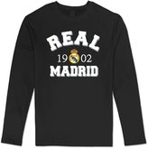 Sarah Men's 2015 Real Madrid Graphic Long Sleeve T-shirt XL
