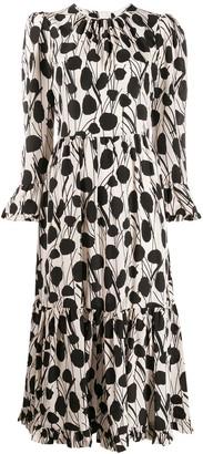 La DoubleJ Midi Visconti Dress