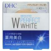 DHC Medicinal W Perfect Powder Foundation Natural Ochre 01 10g by