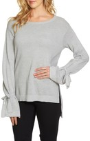 1 STATE Women's 1.state Tie Sleeve Sweater