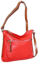 Nino Bossi Women's Carrie Leather Crossbody Bag