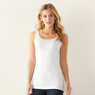 Sonoma Goods For Life Women's Layering Long Tank Top