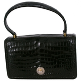 Hermes Black Exotic leathers Handbag