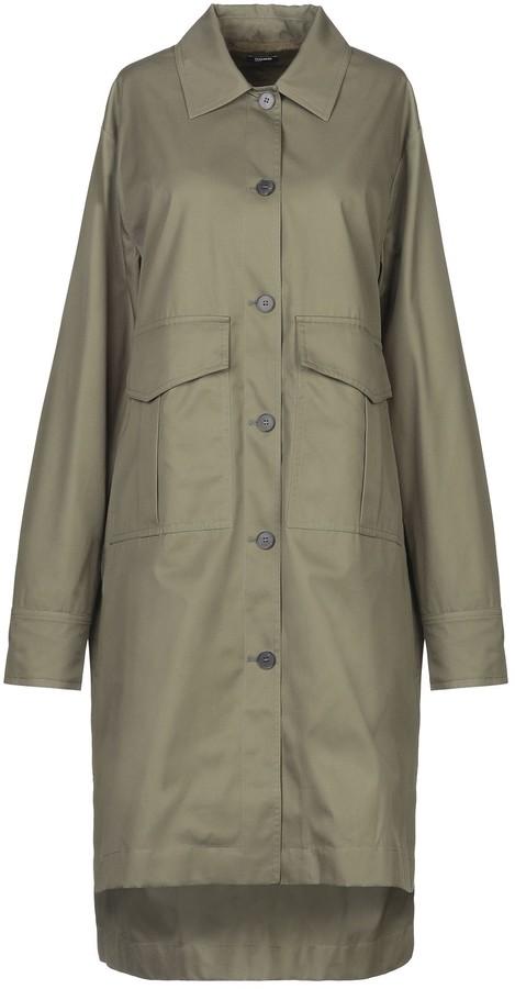 Jil Sander Navy Overcoats - Item 41915706MB