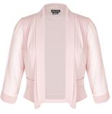 City Chic Coloured Cropped Blazer Jacket