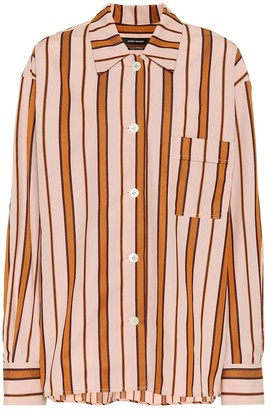 Isabel Marant Venice striped cotton shirt