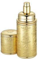Creed Refillable Metallic Leather & Goldtone Atomizer