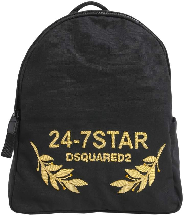 DSQUARED2 24 7 Backpack With Logo