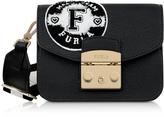 Furla Onyx and Petalo Leather Metropolis Post Mini Crossbody Bag