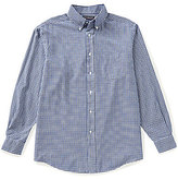 Roundtree & Yorke Long-Sleeve Check Oxford Sportshirt