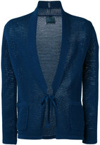 Laneus front knot cardigan - men - Cotton/Polyamide - 48