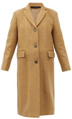 Officine Generale Amber Virgin-wool Blend Coat - Camel