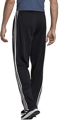 adidas Big Tall Essential 3-Stripes Open Hem Tricot Pants