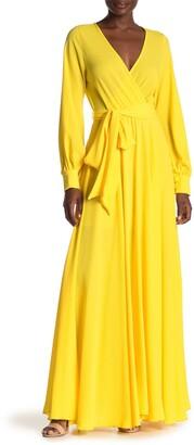 Meghan La Lilypad Solid Maxi Dress
