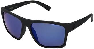 Von Zipper VonZipper Dipstick Polar (Black Satin/Wild Blue Flash Polar Plus) Sport Sunglasses