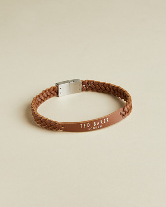 Ted Baker SCARS Woven leather ID bracelet