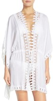 LaBlanca La Blanca 'Costa Brava' Crochet Cover-Up Kimono
