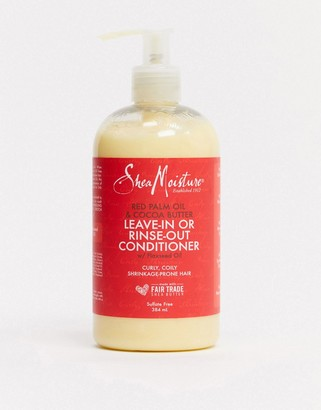 Shea Moisture Red Palm Oil & Cocoa Butter Rinse Out Or Leave In Conditioner
