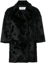 Gianluca Capannolo Wendy cropped sleeve coat