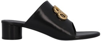 Balenciaga BB Oval sandals